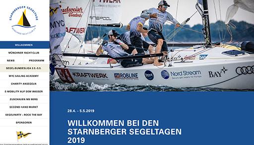 1.Spieltag der Segelbundesliga im MYC mit den Starnberger Segeltagen