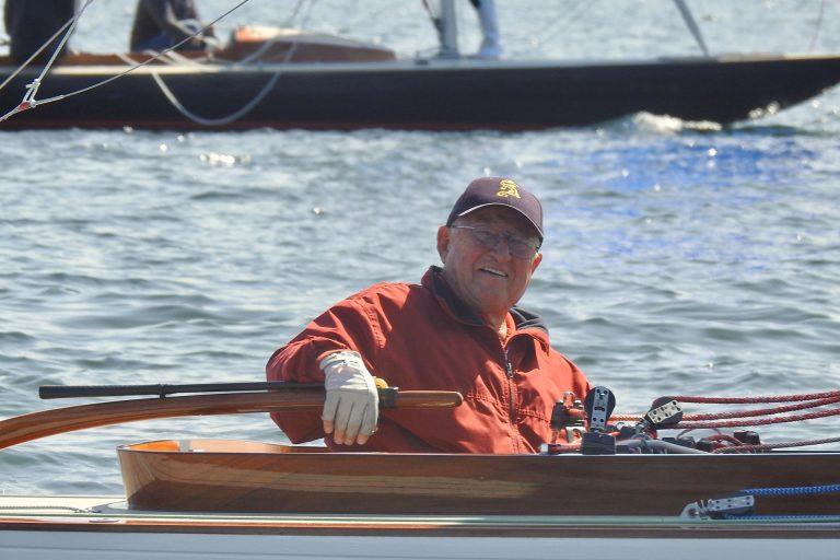Drachen - Hansi Pölt beim Finale im YCP auf Platz 5 - Dr. Helmut Schmidt beim Humpen im ASC auf Rang3