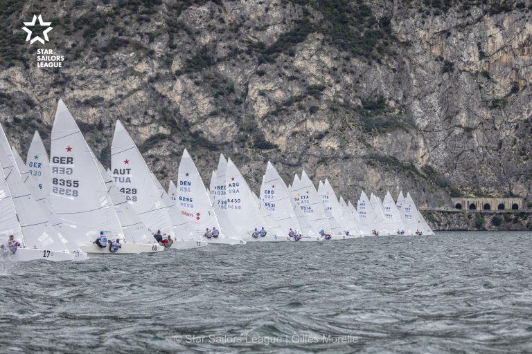 Gutes Ergebnis für Axel Hampe bei der Star Sailors League EM am Gardasee