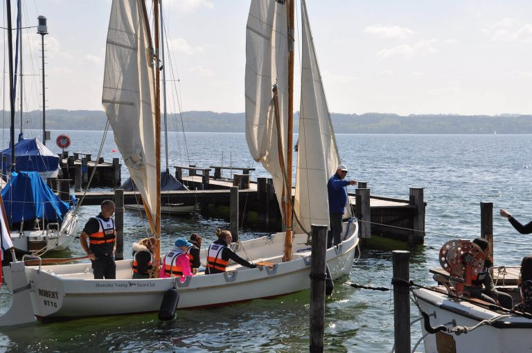 Toller Start fürs Kutterprojekt - Teilnahme an den Starnberger Segeltagen