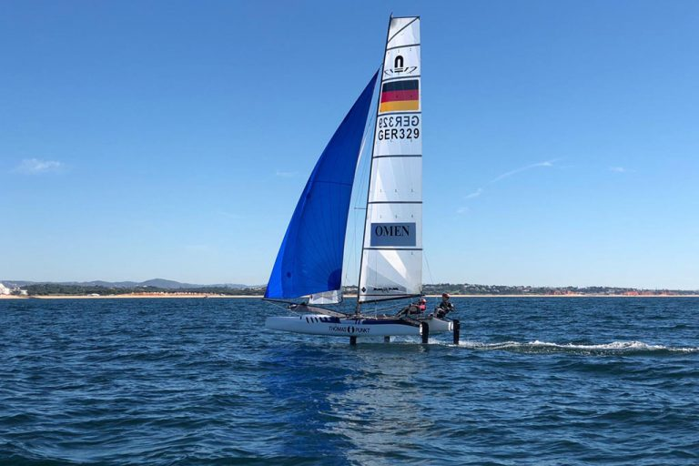 EM-Time - auch die Finn Dinghy und die Nacra 17 starten in die Europameisterschaften