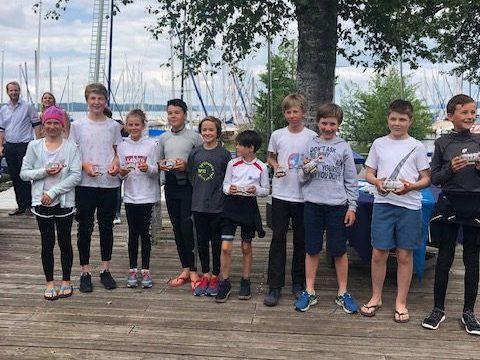 Sieg für Lennart Reith beim Seeshaupter Optipreis