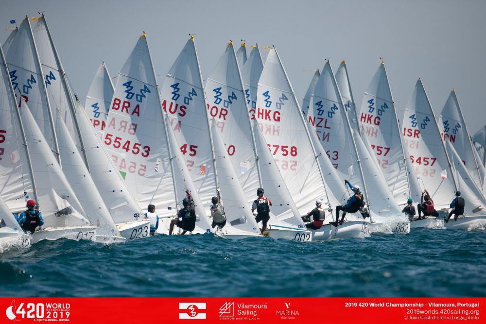 420er WM vor Vilamoura/Portugal mit Amelie und Leon Pätzold auf Platz 39