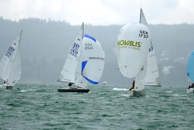 25 Jahre Horst Nebel Preis der H-Boote Zwischenergebnis nach 3 Wettfahrten