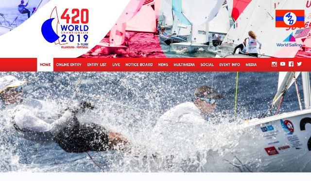 420er WM vor Vilamoura/Portugal mit Amelie und Leon Pätzold