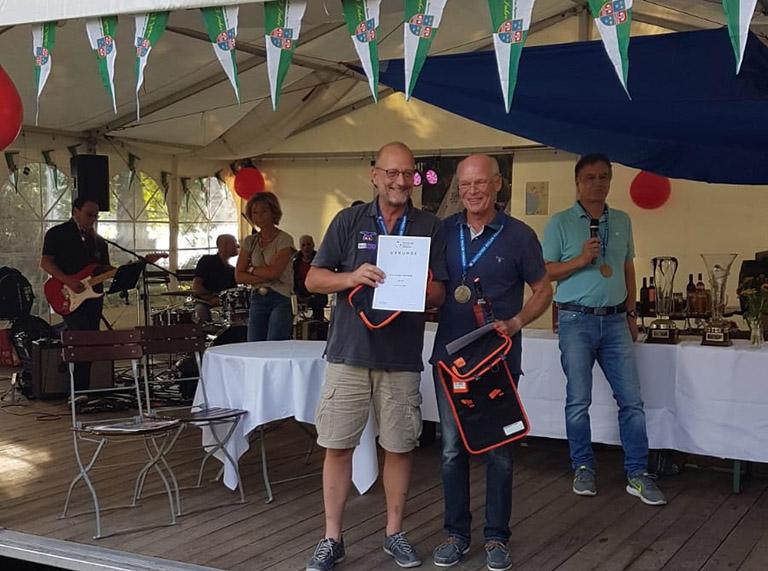 IDM Dyas - Michael Schmohl gewinnt den Internationalen Deutschen Meistertitel