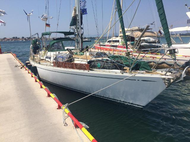 DTYC Mitglied Thomas Schmid segelt über den Atlantik - von Griechenland nach Panama
