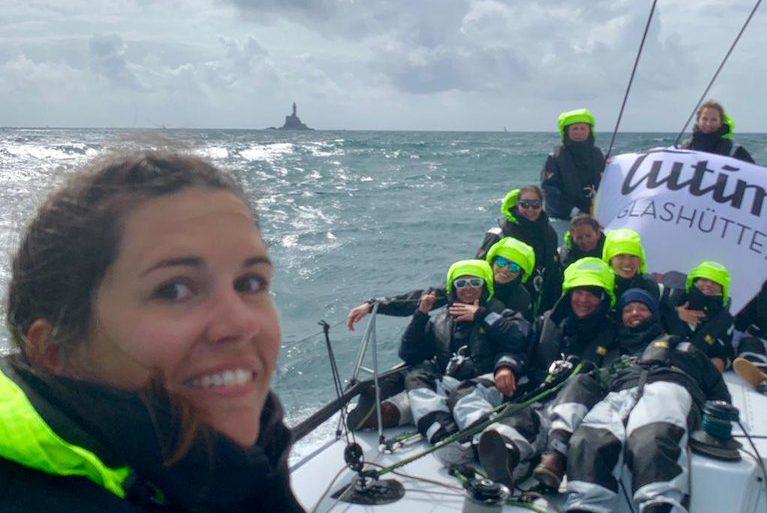 Fastnet Race - Mareike Weber an Bord von Tutima sicher im Ziel