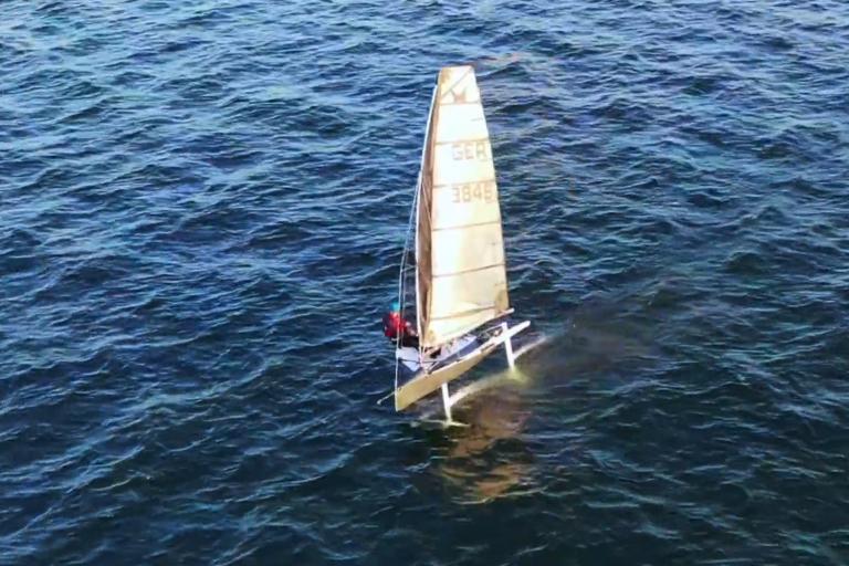 Die fliegenden Mottensegler-  Kai Adolph und Paddo Follmann mit Platz 3 und 10 am Achensee