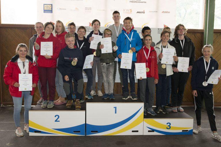 Landesjugend und-jüngsten Meisterschaft  BW - Bronze und Silber für DTYC