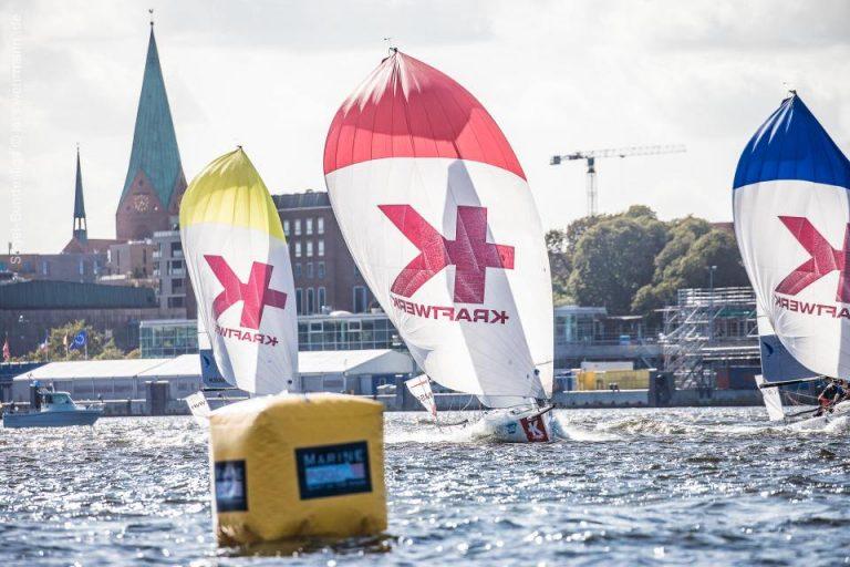 5.Spieltag Segelbundesliga  - DTYC nach 11 Flights auf Rang 9
