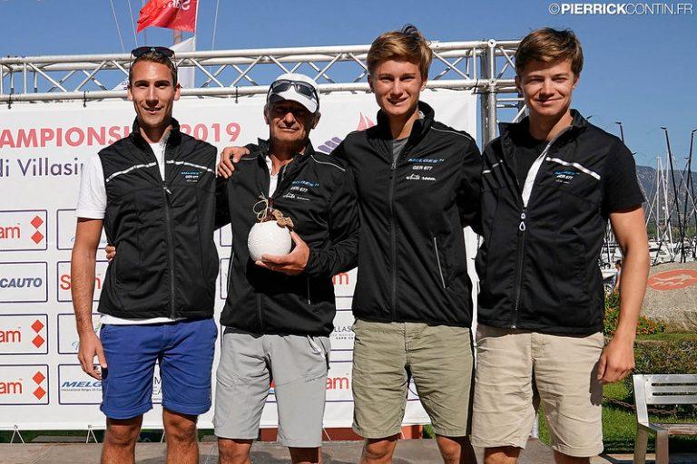 Melges 24 WM - Großartiger Start für die Crew der White Room nach drei Rennen auf Rang 9