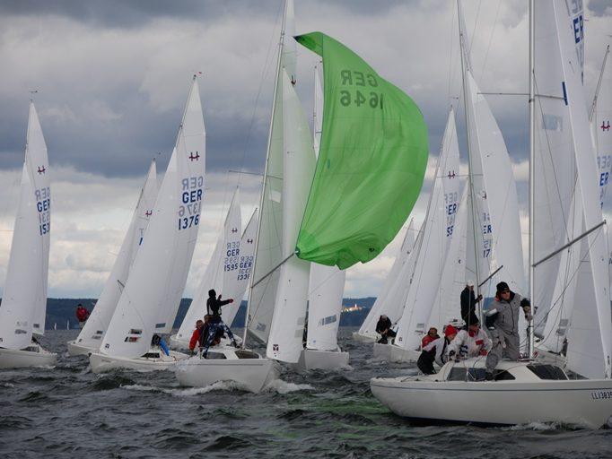 Meisterschaftszeit Ergebnisse IDM H-Boot, Finn-Dinghy und Laser Standard und Radial