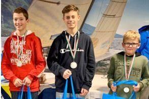 Erfolgreicher Gardaseetrip für die DTYC Jugend - Timmi Krause sensationell auf Rang 3 im Feld der 500 Optimisten