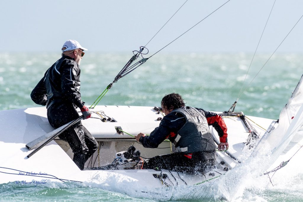 Starboot Winter Series Miami - Axel Hampe auf Platz 34