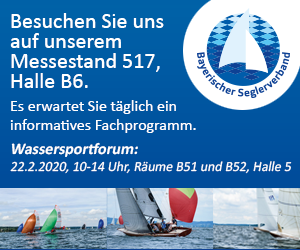 f.re.e - Messe München - DTYC präsentiert sich auf dem Stand des Bayerischen Seglerverbands