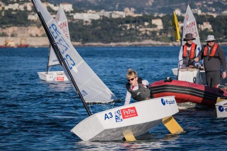 Monaco Optimist Team Race - Rang 14 für das gemischte deutsche Team mit Timmi Krause
