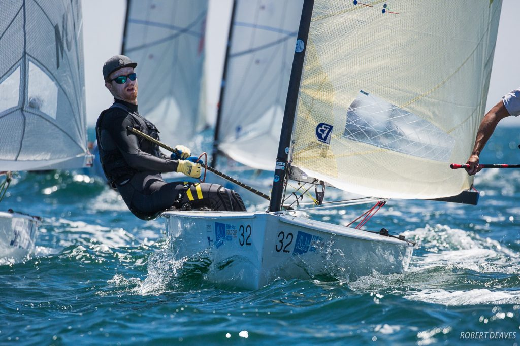 Finn Europameisterschaft - Simon Gorgels am Start