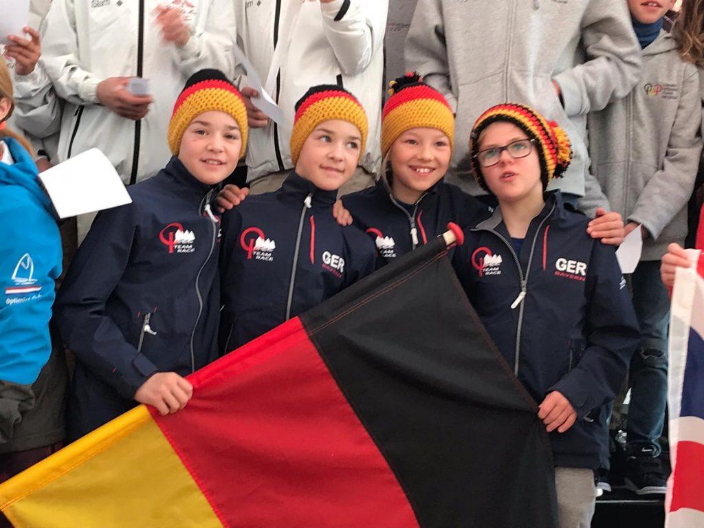 Monaco Optimist Team Race - Timmi Krause eröffnet als Teamleader die Regattasaison 2020