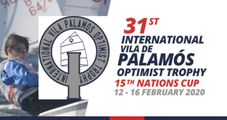 Optimist Trophy Palamos - Die Jugendklasse boomt -500 Teilnehmer Moritz Wagner auf Rang 31