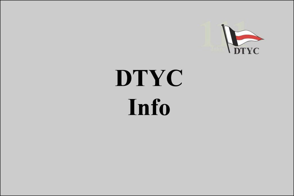 Corona - Zeitraum bis Ende April alle DTYC Termine abgesagt bzw. verschoben