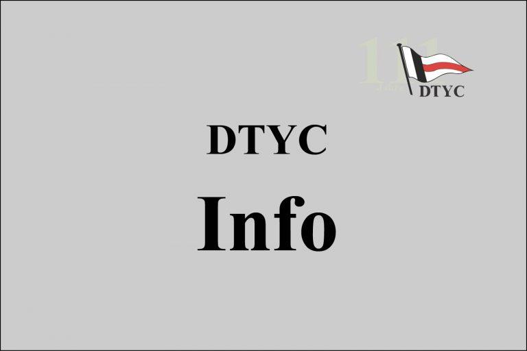 Staatsregierung präzisiert Beschränkungen für Yacht Clubs  - DTYC Clubhaus und -gelände bleibt geschlossen