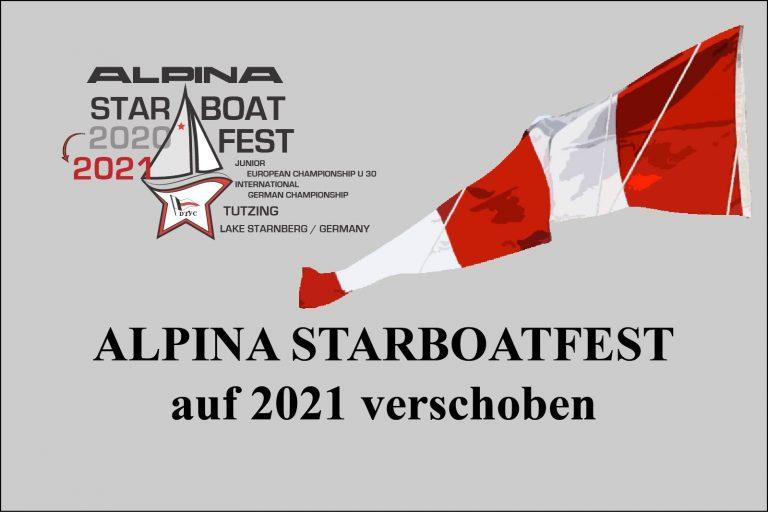 ALPINA  Starbootfest auf 2021 verschoben