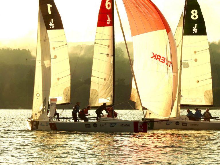 Tag 2  Sailing Champions League - spannende Rennen - DTYC auf Platz 5
