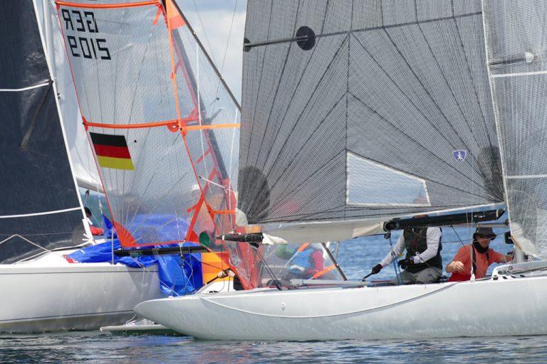 3.Day Race - zuerst kein Wind, dann ordentlich - Thilo Durach gewinnt mit dem Finn