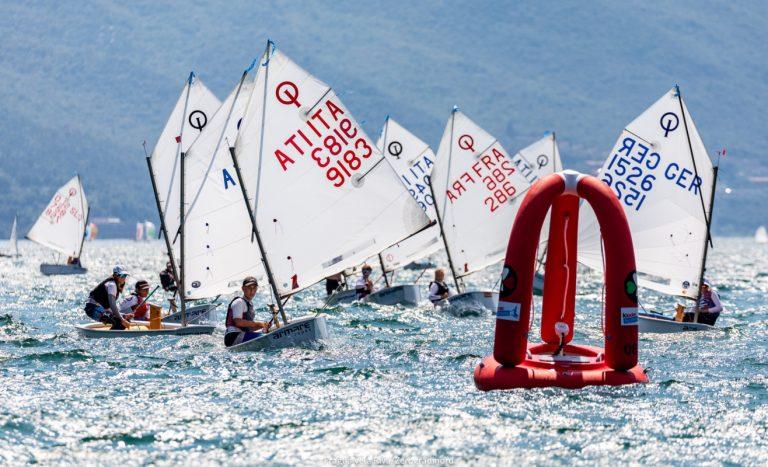 Opti Ora Cup  Gardasee - Moritz Wagner zweitbester Deutscher