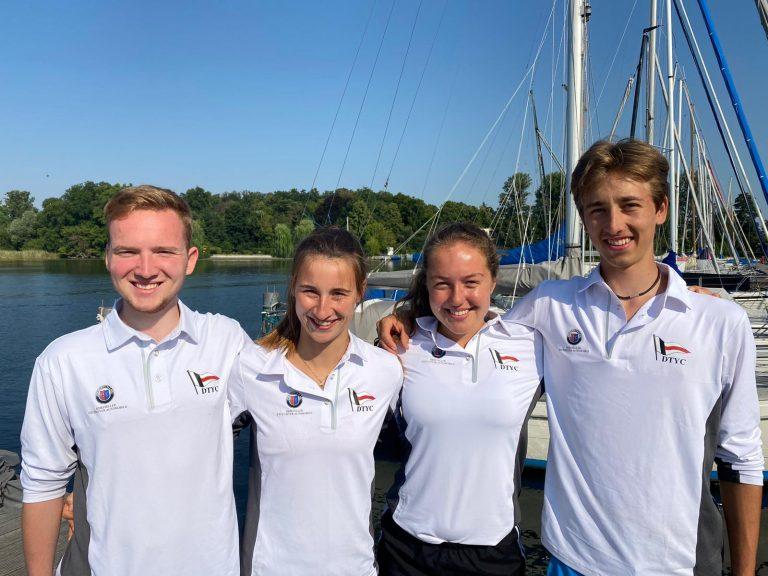 Juniorensegelbundesliga - Junges DTYC Team segelt aufs Podium