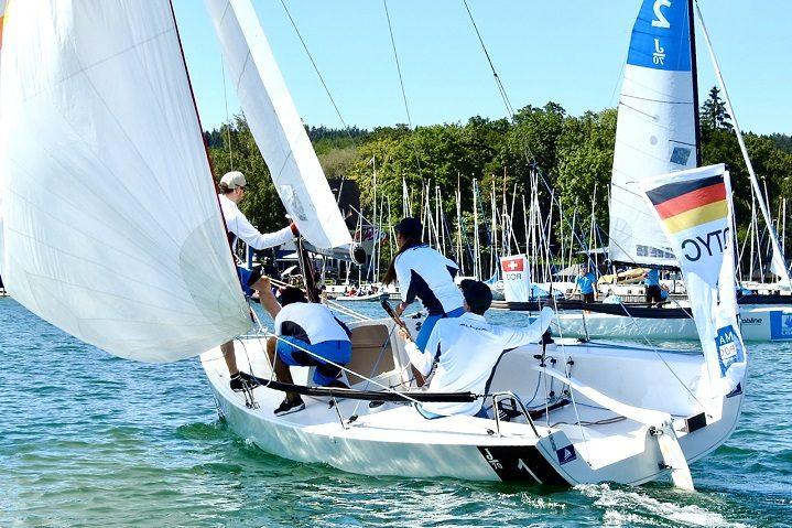 Tag 1 Sailing Champions League  - Laufsieg zum Auftakt für das Team des DTYC