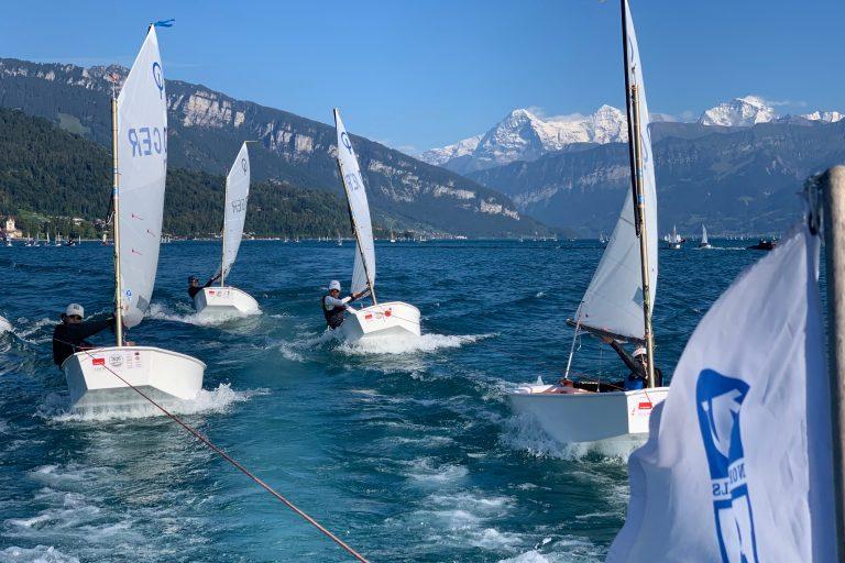 Opti Swiss Open  - Platz 4 für Lukas Wagner