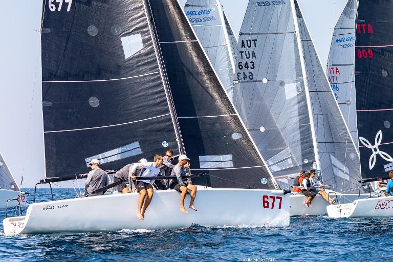 Melges 24 - Crew der White Room gewinnt die European Series