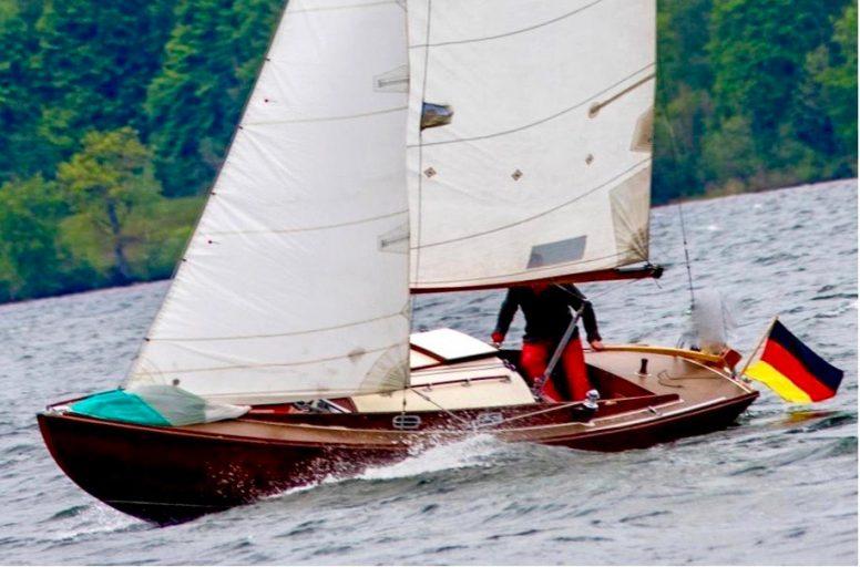 Starnberger See-Meisterschaft 2020  Nicolaus Articus auf Platz 2