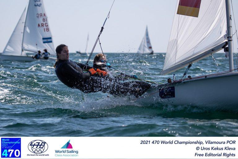 470er WM  - Nadi Böhm und Ann-Christin Goliaß auf Platz 21
