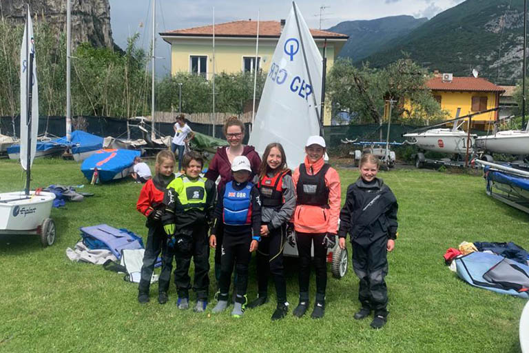 DTYC Talents Training mit Nadi Böhm am Gardasee