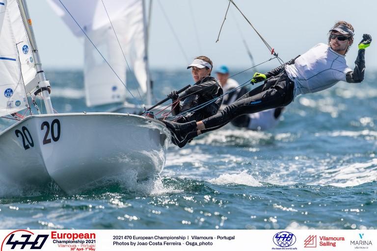 470er Europameisterschaft - Platz 13 für Theresa Löffler und Christopher Hoerr