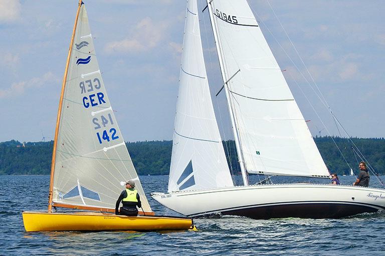 DTYC Day Race Traumbedingungen-26 Boote am Start