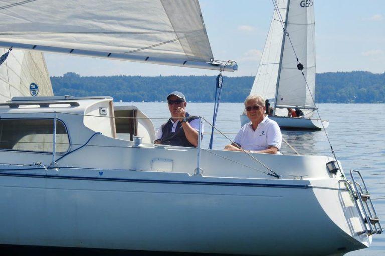 25sm - Manni und Moni Gröschel und Prof. Dr. Peter Bauer gewinnen auf der Optima