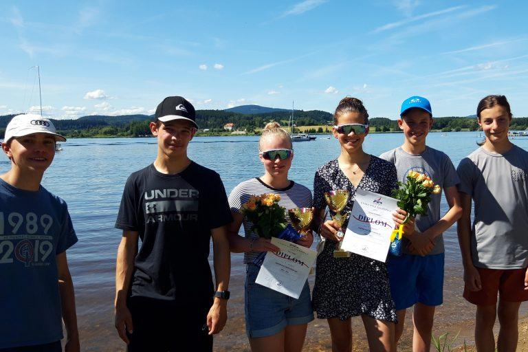 29er - Lipno Cup  Platz 2 für Jule Ernst/Louisa Schmidt