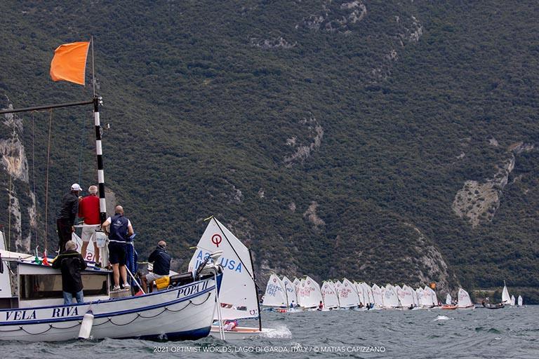Opti WM - Moritz Wagner qualifiziert sich für die Goldfleet