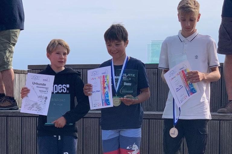 Opti - Lukas Wagner gewinnt Landesjüngstenmeisterschaft in MV