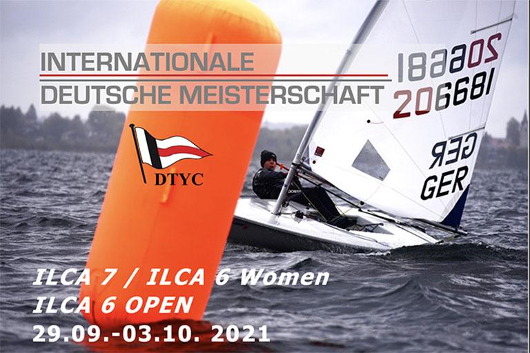 Internationale Deutsche Meisterschaft ILCA - Herzlich Willkommen