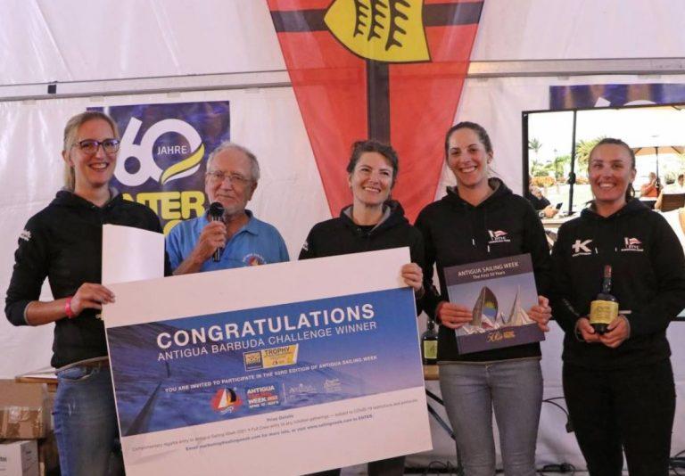 J70- DTYC Damencrew bei Bodensee Battle auf Platz 2