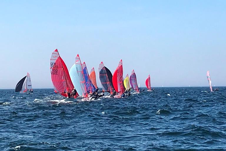 29er Kieler Woche - zwei DTYC Teams qualifizieren sich für die Goldfleet