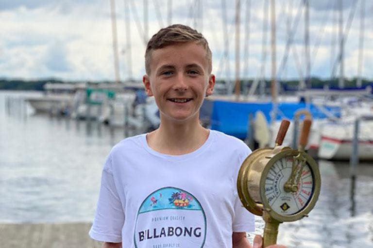 ILCA 6 - Lennart Reith gewinnt die Landesjugendmeisterschaft Brandenburg