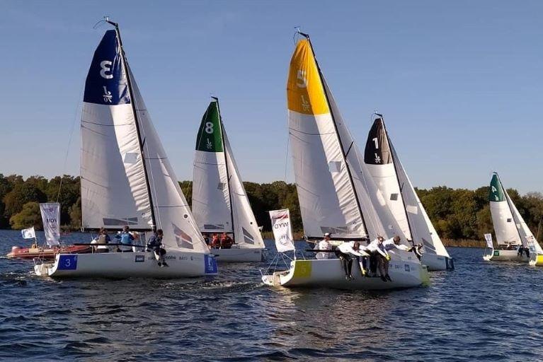 Junioren Segelliga - Platz drei für DTYC Team