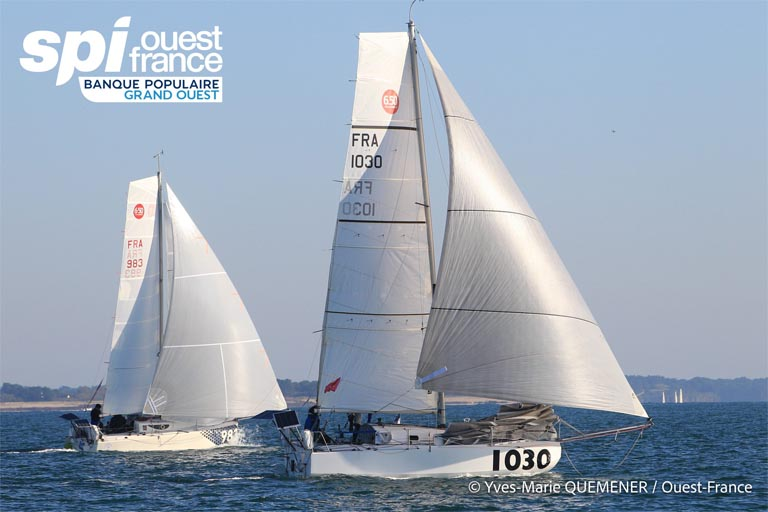 Mini 6.5 - Christian Rupp beim Spi Ouest auf Rang vier